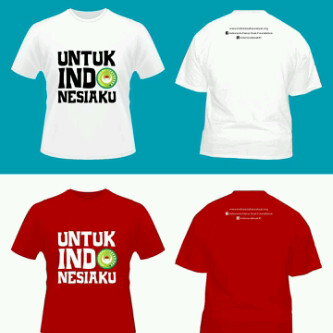 T-Shirt Indonesia Harus Kuat