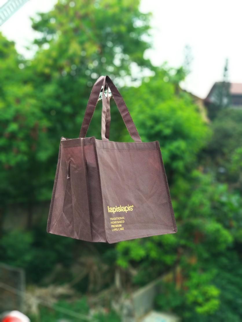 goodie bag furing coklat