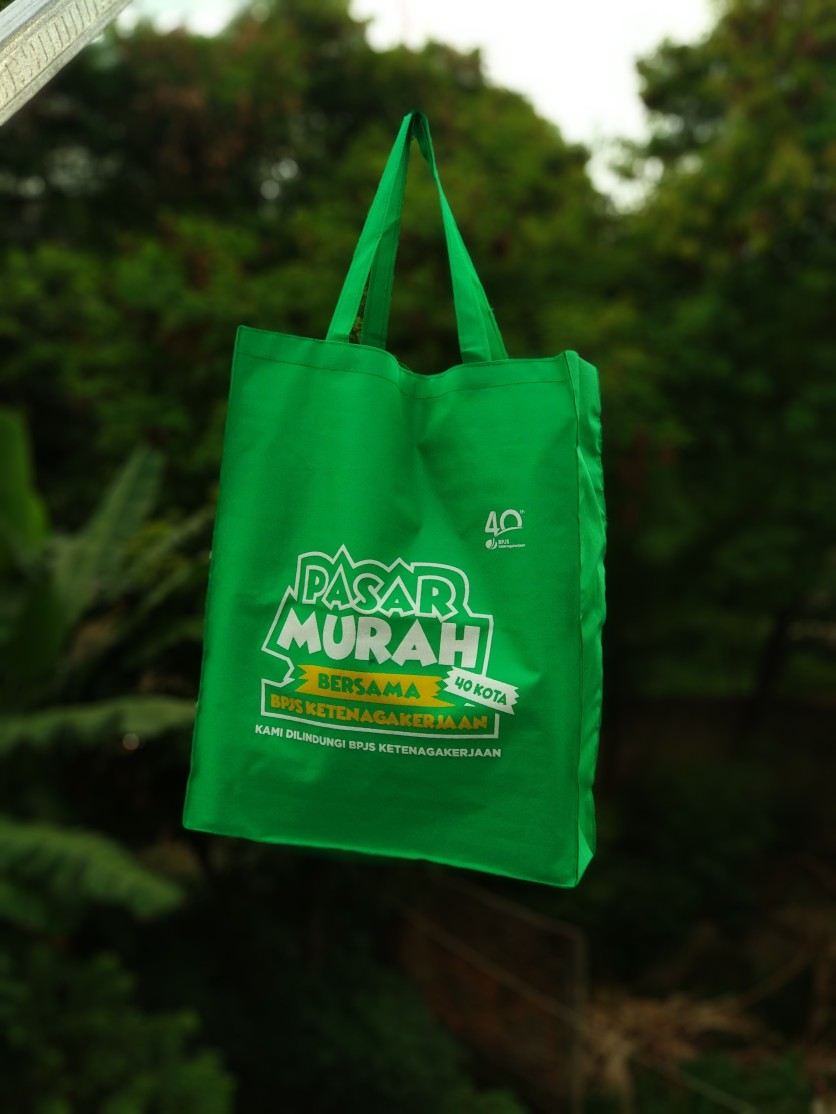 goodie bag hijau d600 uk 40 x 60